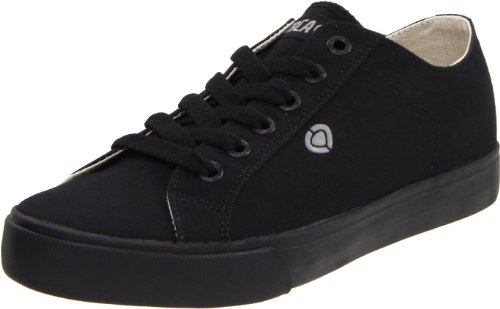 C1RCA Men's Game Slim Sneaker,All Black,11 M (C1rca Footwear Sneakers)