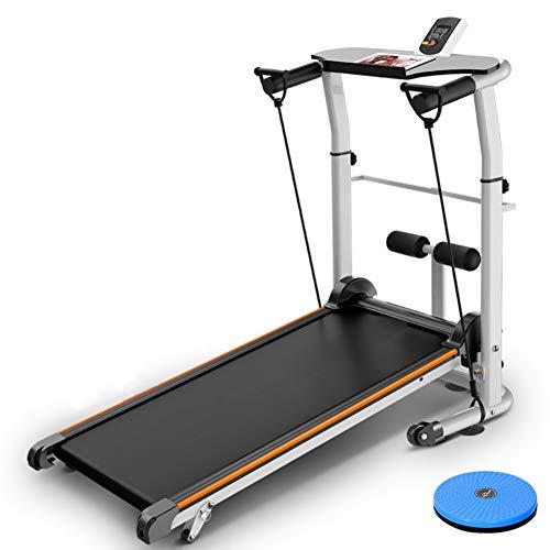 Treadmills QFF@ Vier In Een Multifunctionele Niet-elektrische Pure Mechanische Mini Vouwen Fitness Wandelen Machine Pas…