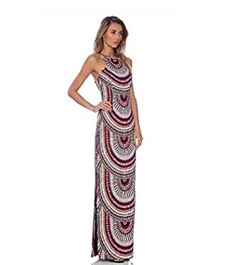 Multi Color Polyester Casual Dress For Women