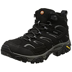 Merrell Women's Moab 2 Mid GTX Hiking Boot Black 8.5 B(M) US