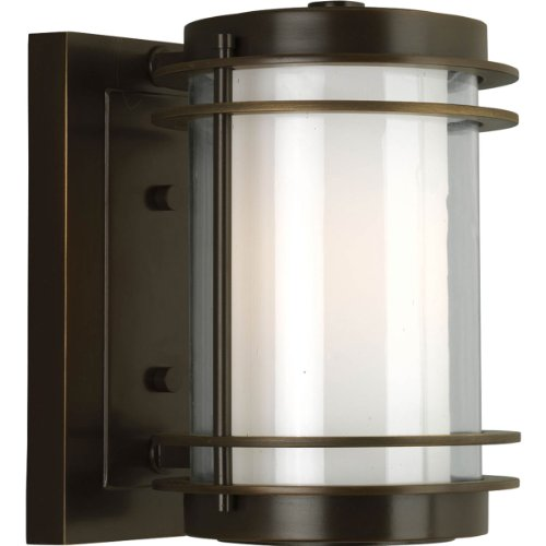 Penfield Outdoor Wall Sconce in Oil Rubbed Bronze Size: Small Review