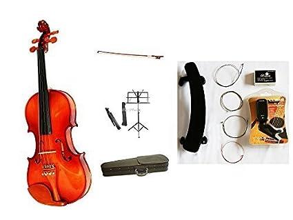 Amazon.com: vio Música 4/4 Violín del paquete de madera ...