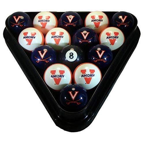 Aromzen University of Virginia Billiard Numbered Ball Set