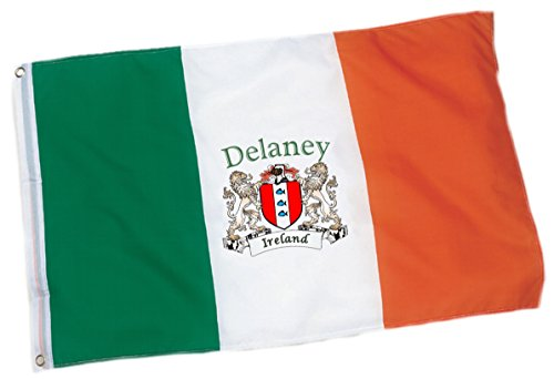 Delaney Irish Coat of Arms Flag - 3'x5' Foot
