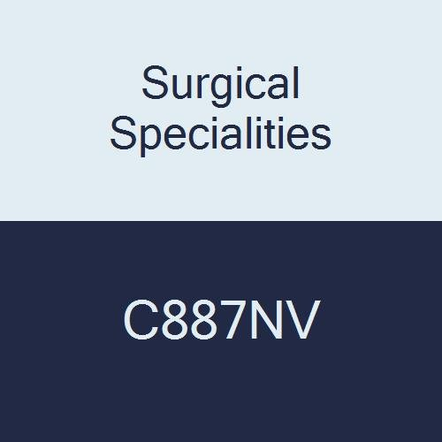 Surgical Specialities C887NV Chromic Gut Animal Health Suture, Reverse Cutting, 2-0 Size, 70 cm Barb, 26 mm Needle, 1/2 Circle (Pack of 12)