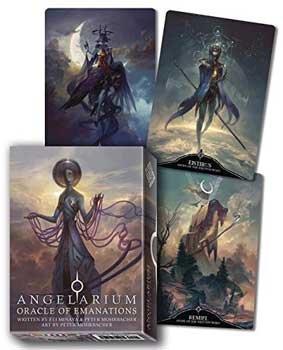 Fortune Telling Tarot Cards Angelarium Oracle Deck Emanations Angels Kabbalah Tree Life Watchers