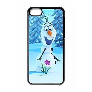 Personalized Custom My Favorite Cartoon Frozen Ideas Printed for IPhone 5C Phone Case Cover--WSM-050801-053