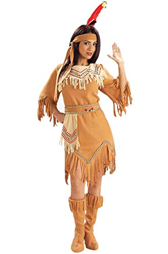 Tribal Maiden Native American Indian Adult Costume (Milk Maiden Adult Costumes)