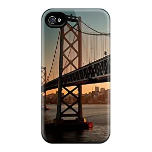 Hot Snap-on Downtown Bay Bridge Sa Hard Cover Case/ Protective Case For Iphone 4/4s wangjiang maoyi