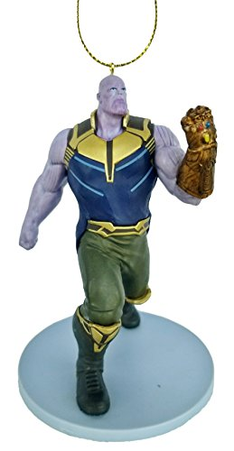 Thanos (Infinity War) Figurine Holiday Christmas Tree Ornament - Limited Availability - New for 2018 -