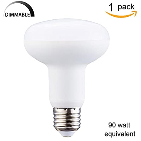Pack of 1)Dimmable R25 LED Bulb, 9 Watt LED Flood Light Bulb
