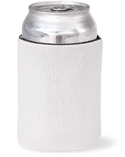 Juvale 24-Pack Blank White Beer Can Insulated Neoprene