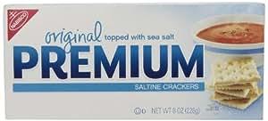 Premium Saltine Crackers, (Original, 8-Ounce Box)