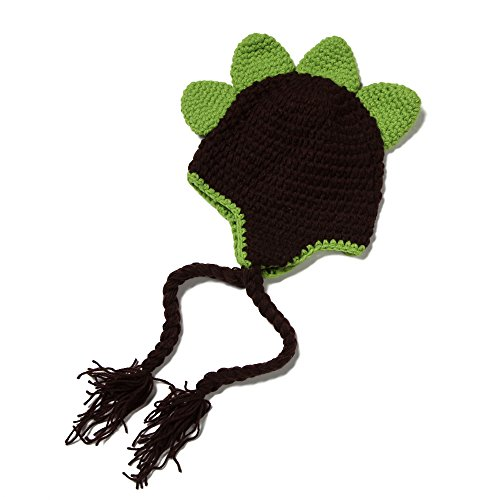 elee-newborn-baby-dinosaur-knit-crochet-clothes-beanie-hat-outfit-photo-props-3