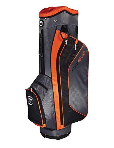 Hot-Z 2017 Golf 2.5 Cart Bag, Orange/Black/Gray