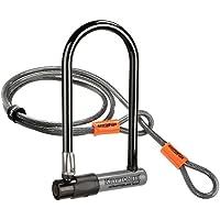 Kryptonite KryptoLok 2 - Candado antirrobo con Cable para Bicicleta (Incluye Adaptador Flexible, 122 cm)