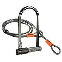 Kryptonite Kryptolok Standard Bicycle U-Lock w/4-foot Flex Cable