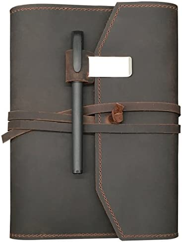 REFILLABLE Leather Journal Writing Notebook product image