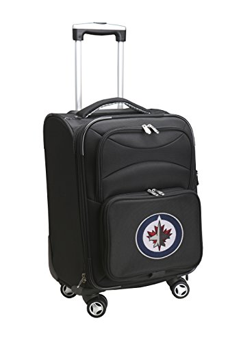 picture of NHL Winnipeg Jets Domestic Carry-On Spinner, 20-Inch, Black