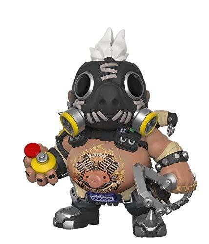 "Funko Pop Games: Overwatch-6"" Road Hog 6"" Roadhog, Multicolor"