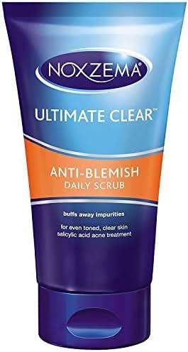 Facial Cleanser: Noxzema Anti-Blemish Daily Scrub