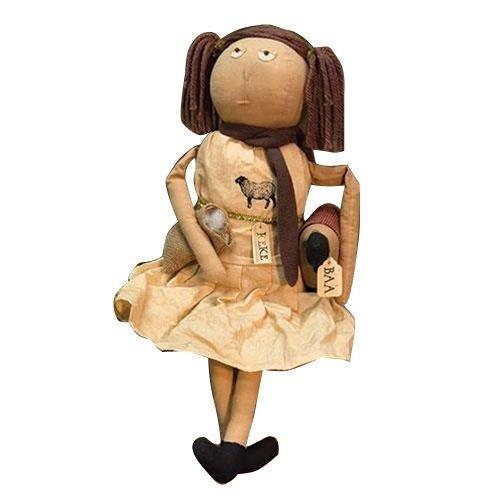 CWI Gifts キーク人形 シープ付き 高さ21.5インチ x 幅8.5インチ x 奥行き21.5インチ マルチカラー   B07B6DFKK5