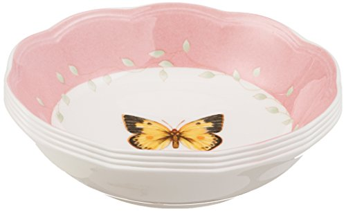 Lenox Butterfly Meadow Colors Fruit Dishes, Set of 4