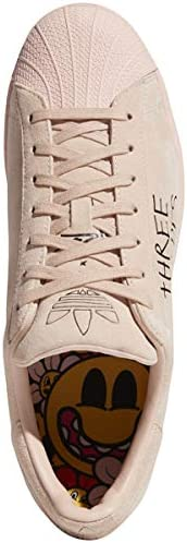 adidas Originals Women's Rellow Superstar Shoes ASW (Vappnk,cblack,vappnk, Numeric_9)