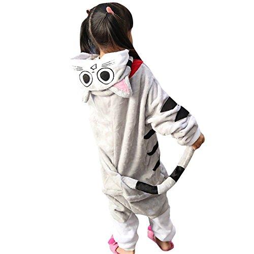 Vivi Cosplay Costume (Vivi Pray Kids Unisex Cosplay Pajamas Onesie Cat Costume)