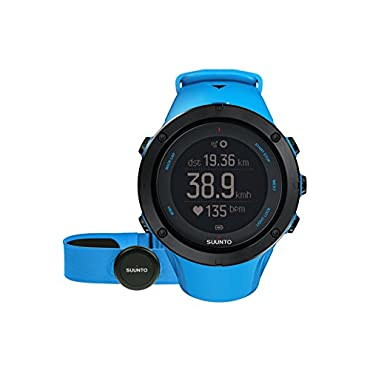 Suunto Ambit3 Peak Sapphire Blue (HR) Heart Monitor GPS Watch (SS022305000)