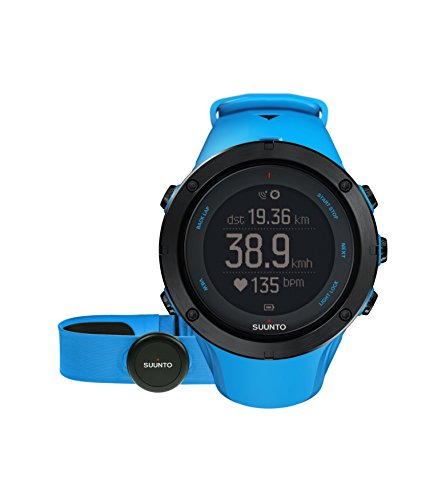 Suunto 2015 Ambit3 Peak Sapphire GPS/HR Outdoor Activity Watch (Blue)