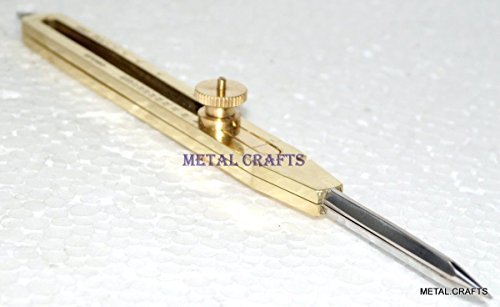 BRASS PROPORTIONAL DIVIDER ENGINEER DRAFTING TOOL 9 INCH SCIENTIFIC STEEL POINT 20% OFF