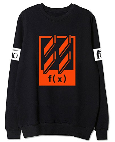 Z&T F(x) 4WALLS Vitoria Krystal Fleece Sweater Shirt (Black, S) -  Keith's Factory