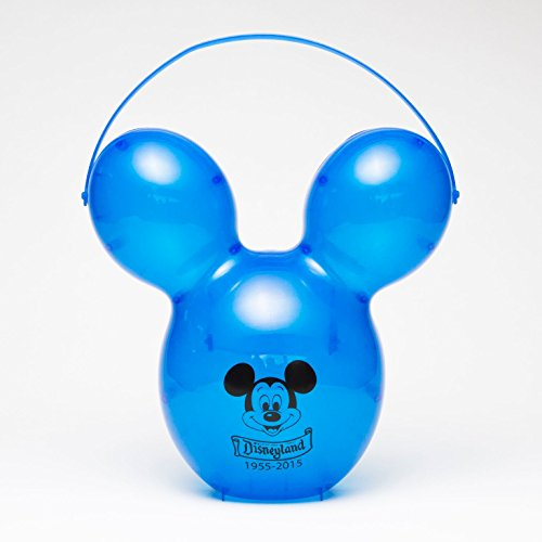 Disney Mickey Mouse Balloon 60th Anniversary Popcorn Bucket (Blue) -
