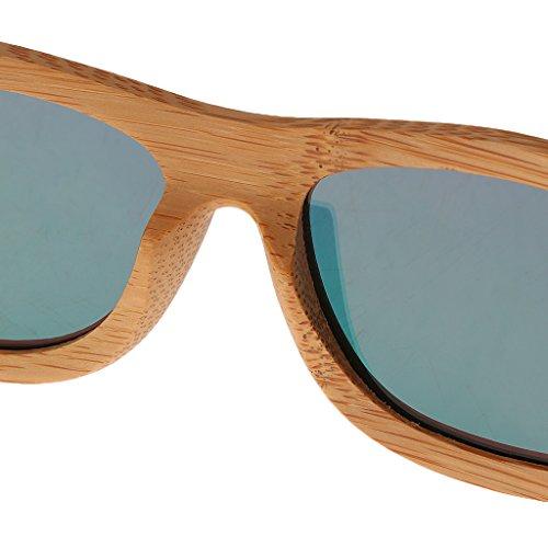 Lunettes en lunette de SM SunniMix Bois UV400 Rose Polarisées Soleil Adultes XSqfwf5