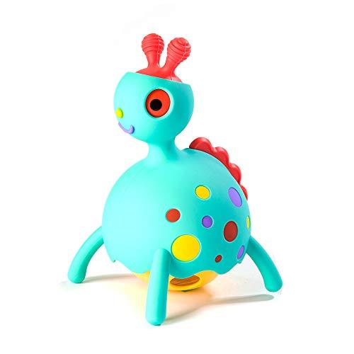 Fat Brain Toys Rollobie Baby Toy, Blue