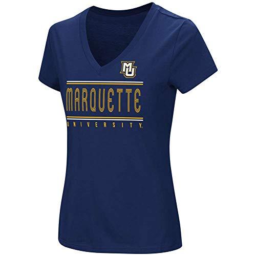 (COLOSSEUM ATHLETICS CORP. Marquette Golden Eagles Women's How Good Am I T-Shirt - Junior Women - M (8-10) )