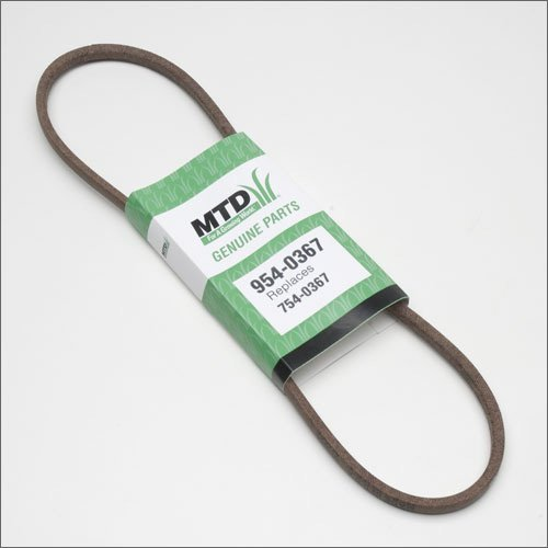 Snow Thrower Auger Belt (MTD 954-0367 Snow Thrower Auger Belt-V 3/8 X 34.4 by MTD)