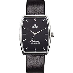 Vivienne Westwood Men's VV009BKBK Buckle Black on Black Watch