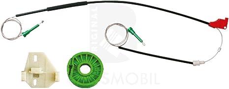Pour VW Transporter t4 Lève Vitre Kit De Réparation Réparation Câble Avant Droite