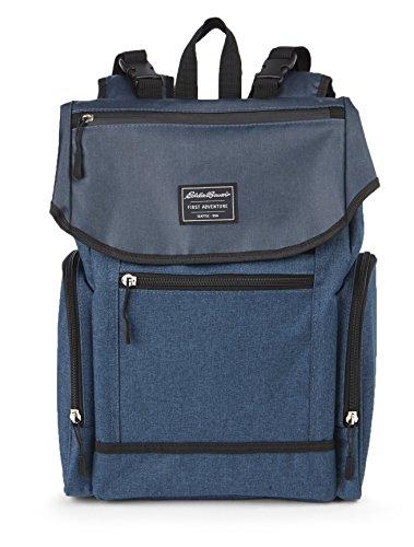 Eddie Bauer Back Pack Diaper Bag, Navy