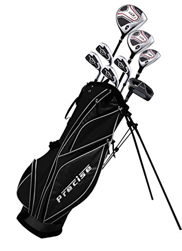 Aspire XD1 Teenager Complete Golf Set Includes Driver, Fairway, Hybrid, 7, 8, 9, Wedge Irons, Putter, Stand Bag, 3 HC
