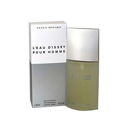 Issey Miyake Eau De Toilette Spray - Issey Miyake L'eau D'issey Eau de Toilette Spray for Men, 4.2 Ounce