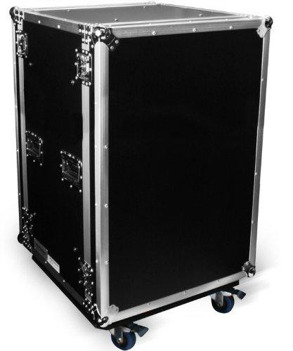 Marathon Flight Road Case MA16UADSM21W 16u 21-Inch Shock Mount Amplifier Deluxe Body Depth with (16u Shock)
