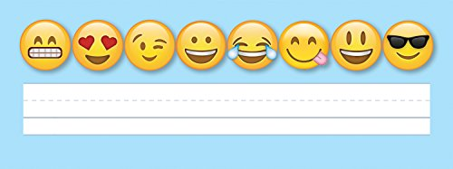 Smiles Name Tags - Creative Teaching Press Incentive, Wall Décor Emoji's Name Plates, CT 3899