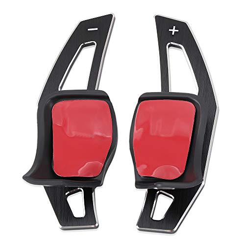 Aluminum Steering Wheel Paddle Shifter Extensions Covers Fit for VW Volkswagen Golf 5 MK5 6 MK6 GTI R32 Scirocco CC