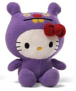 Hello Kitty Ugly Doll Trunko - 7 in