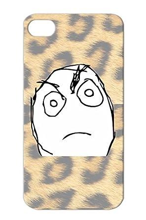 Amazon.com: TPU Shock Absorción Reacción Face Rage Comic ...