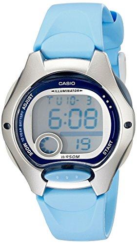 Casio Women s LW200-2BV Digital Blue Resin Strap Watch