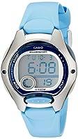 Casio Women's LW200-2BV Digital Blue Res...